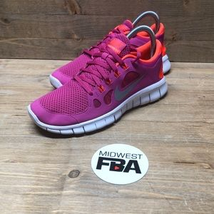 Nike Girl's Free 5.0 Running Shoes size 5.5Y
